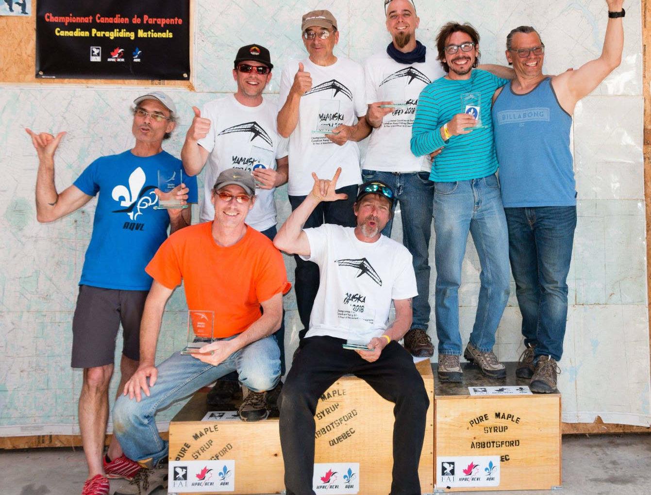 Open Yamaska 2018: champions dévoilés