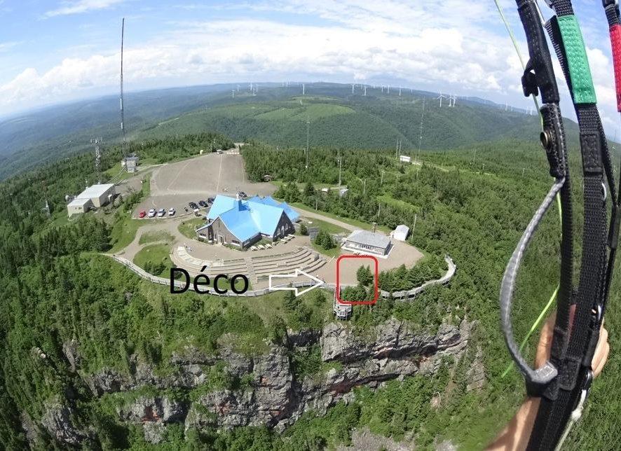 Évaluation du mont Saint-Joseph en Gaspésie